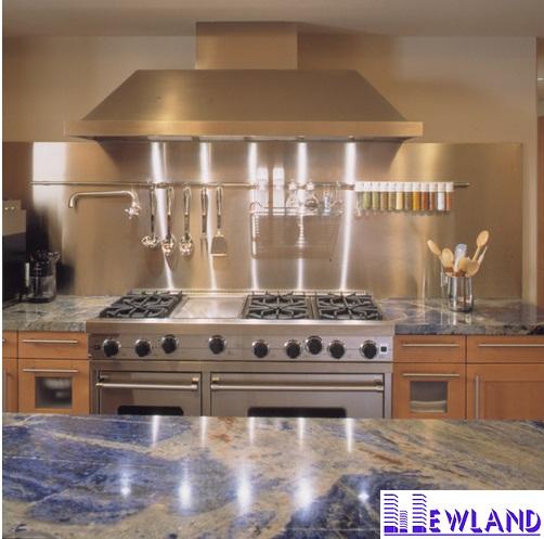 Đá Marble Xanh Nhiệt Đới làm bàn bếp MT-DBB0013 - Đá marble, đá Granite, Đá ốp lát ...