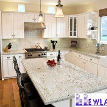 Đá Granite cổ trắng làm bàn bếp MT-DBB0046