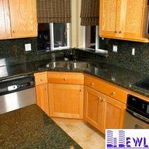 Đá Granite Bahia xanh làm bàn bếp MT-DBB0103