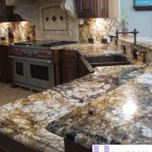 Đá Granite Baricatto làm bàn bếp MT-DBB0045