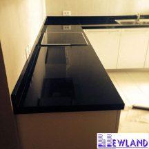 Đá Granite Đen An Khê làm bàn bếp MT-DBB0102