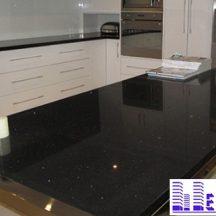 Đá Granite Đen Huế làm bàn bếp MT-DBB0101