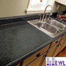 Đá Granite Đen Ngôi Sao làm bàn bếp MT-DBB0099