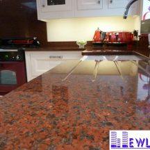 Đá Granite Đỏ Bình Định làm bàn bếp MT-DBB0098