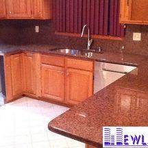 Đá Granite Đỏ Nhuộm làm bàn bếp MT-DBB0097