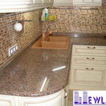 Đá Granite Hồng Hoa Phượng làm bàn bếp MT-DBB0093