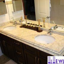 Đá Granite Absolute Creme ốp lavabo MT-LVB0009