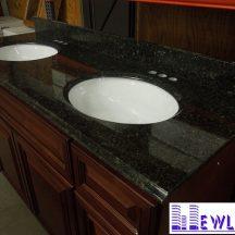 Đá Granite Black Emperald ốp lavabo MT-LVB0038