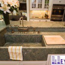 Đá Granite Costa Esmeralda ốp lavabo MT-LVB0029