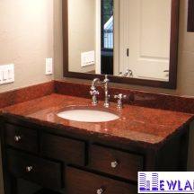 Đá Granite Đỏ Bình Định ốp lavabo MT-LVB0045