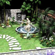 Tiểu cảnh sân vườn MT-TCV0002