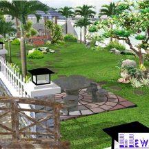 Tiểu cảnh sân vườn MT-TCV0003