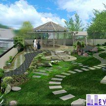 Tiểu cảnh sân vườn MT-TCV0005