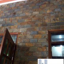 Đá Lai Châu đa sắc ốp tường vệ sinh MT-DLC0001