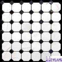 Đá dán Mosaics màu trắng sữa MT-MO0016
