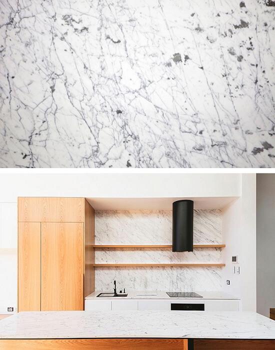 5 loại đá marble trắng đẹp miễn chê cho phòng bếp 3