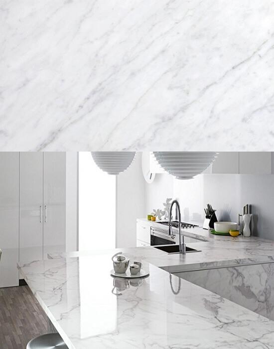 5 loại đá marble trắng đẹp miễn chê cho phòng bếp 2