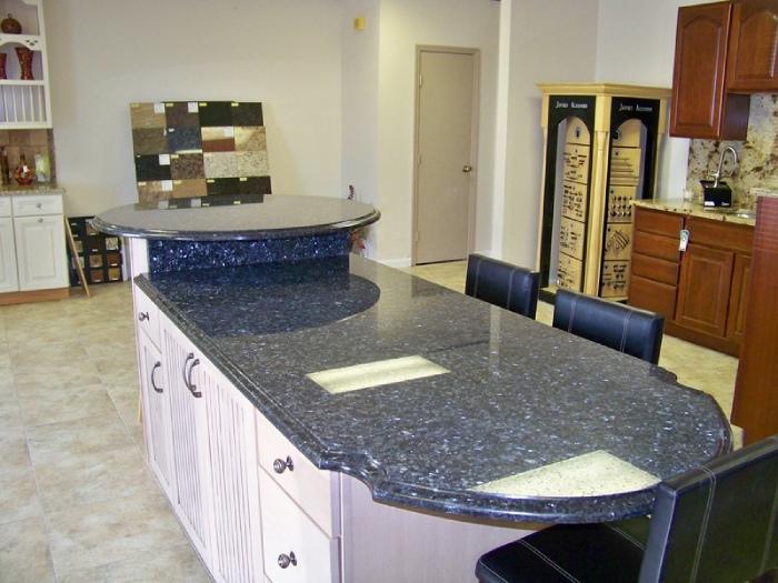 Đá granite kim sa đại diện cho vẻ đẹp sang trọng