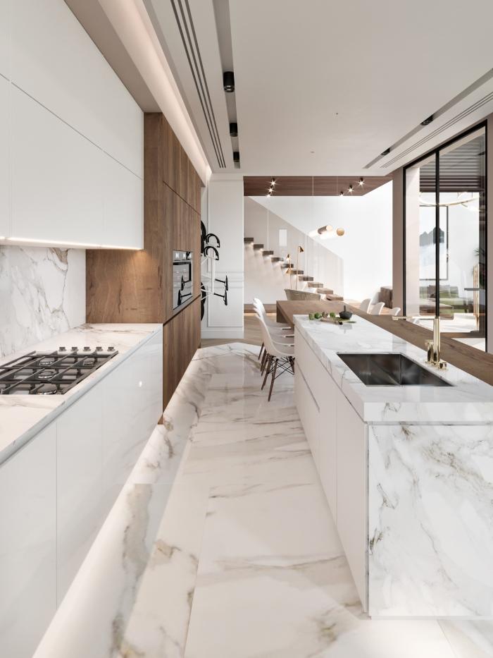 Đá marble trắng Ý vẻ đẹp nhẹ nhàng tinh tế