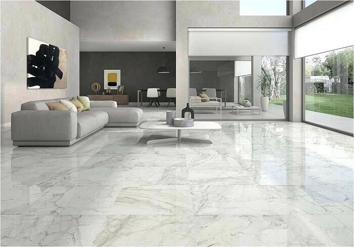 Đá marble lát nền: tại sao không?