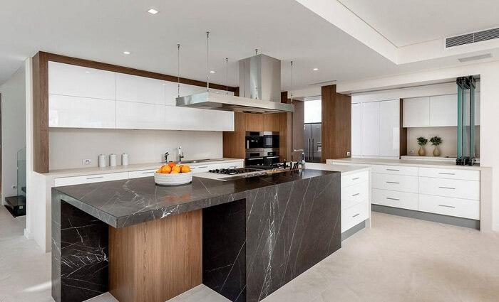Đá marble ốp bếp - lựa chọn tinh tế cho không gian nhà ở