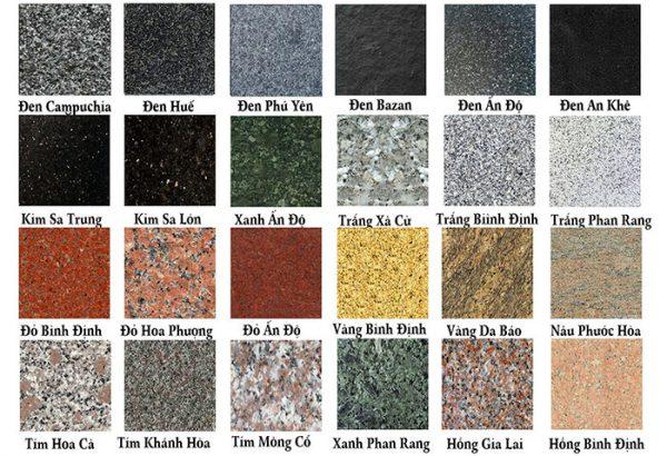 Giá đá hoa cương dao động như thế nào?