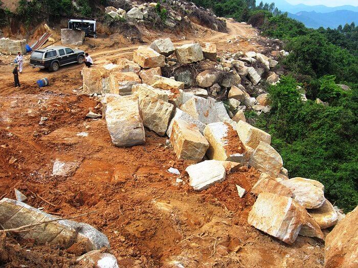 Tất tần tật về đá granite Bình Định