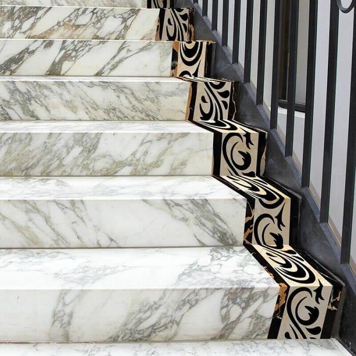 Đá marble ốp cầu thang liệu có tốt?