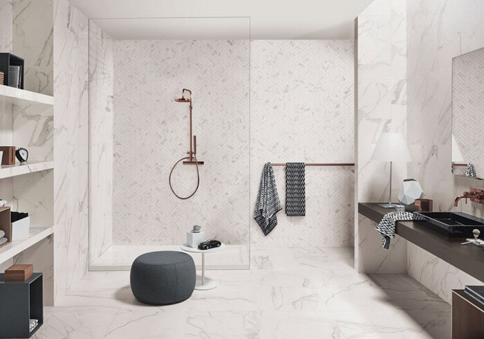 Những mẫu đá marble ốp tường đẹp nhất